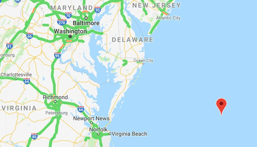 Map Of Virginia And Maryland Cities.4 7 Magnitude Earthquake Reported Off Ocean City Coast Wtop