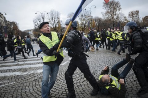 French yellow vest movement dogged by intolerance, extremism