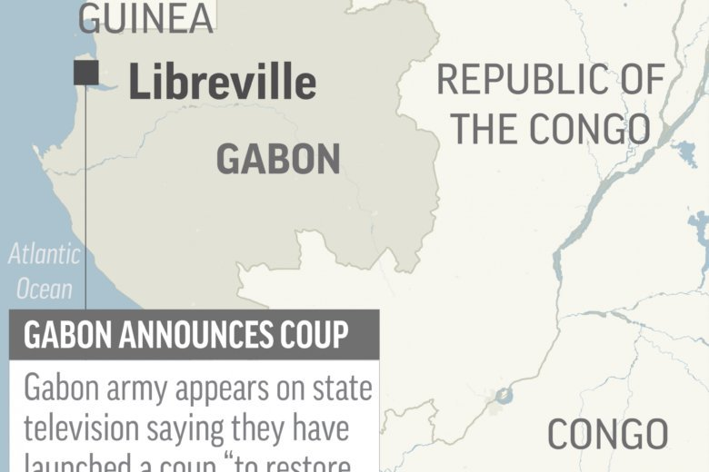 Coup In Gabon As Military 'Seizes Power'