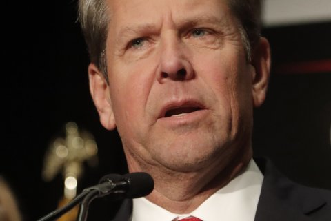 The Latest: Kemp sworn in as Georgia's 83rd governor