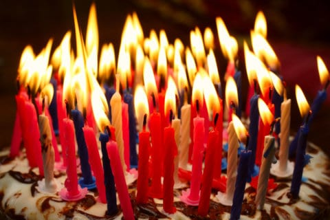 90 birthday candles bring Maryland firefighters to the party