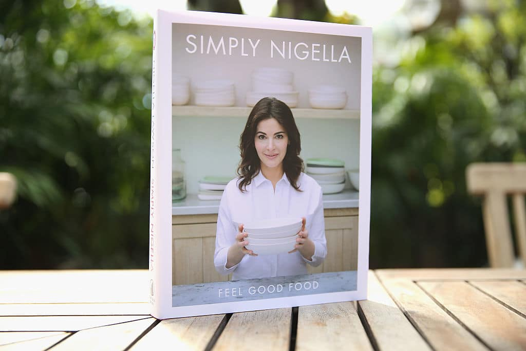 MIAMI BEACH, FL - FEBRUARY 28:  A view Simply Nigella book on display at a Brunch Hosted By Nigella Lawson during 2016 Food Network & Cooking Channel South Beach Wine & Food Festival Presented By FOOD & WINE at Casa Tua on February 28, 2016 in Miami Beach, Florida.  (Photo by Neilson Barnard/Getty Images for SOBEWFF®)