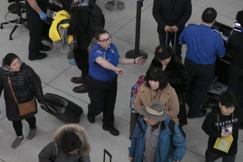Government shutdown strains emerge in US air travel system