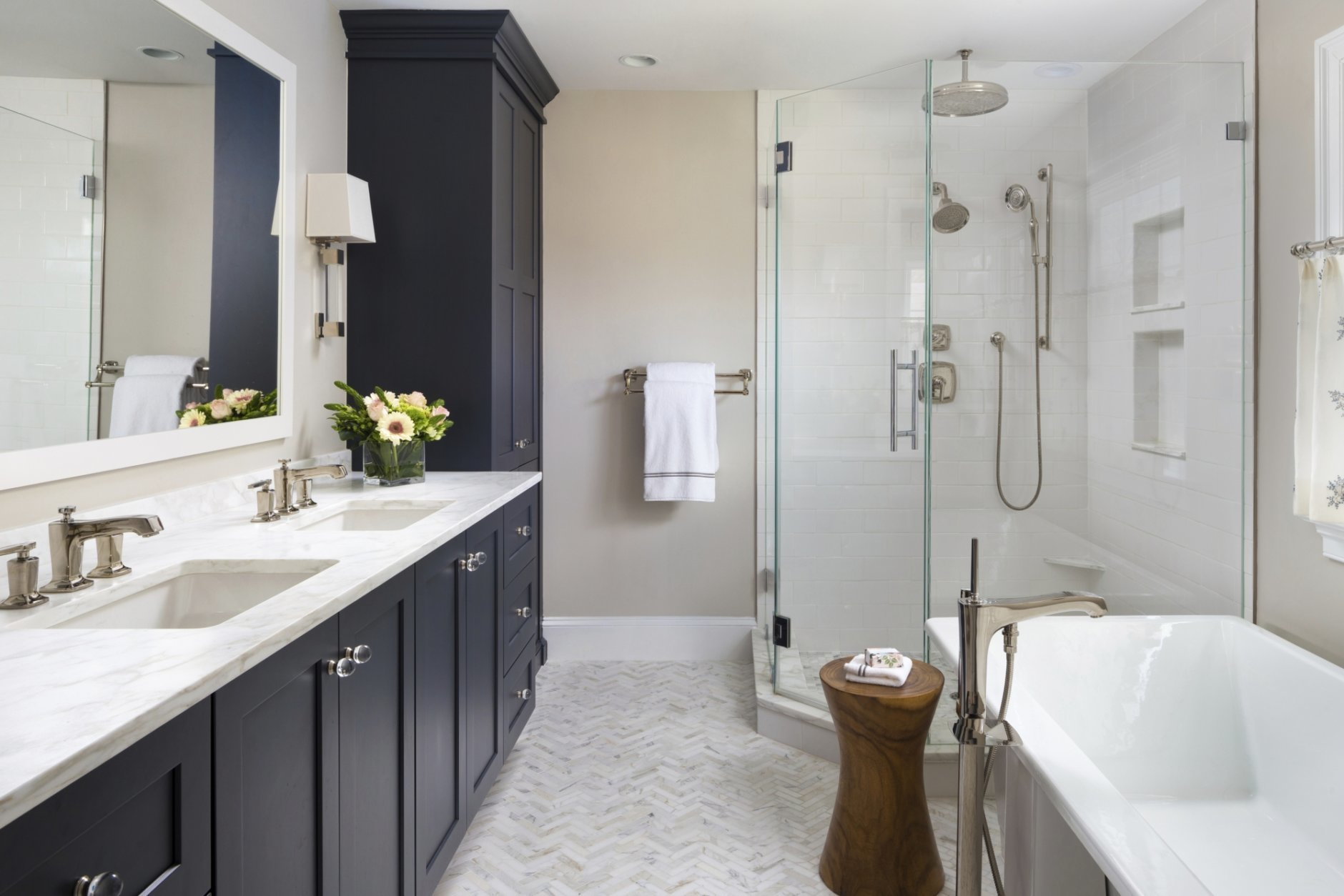 Ask A Designer Small Touches Create Great Master Bathroom