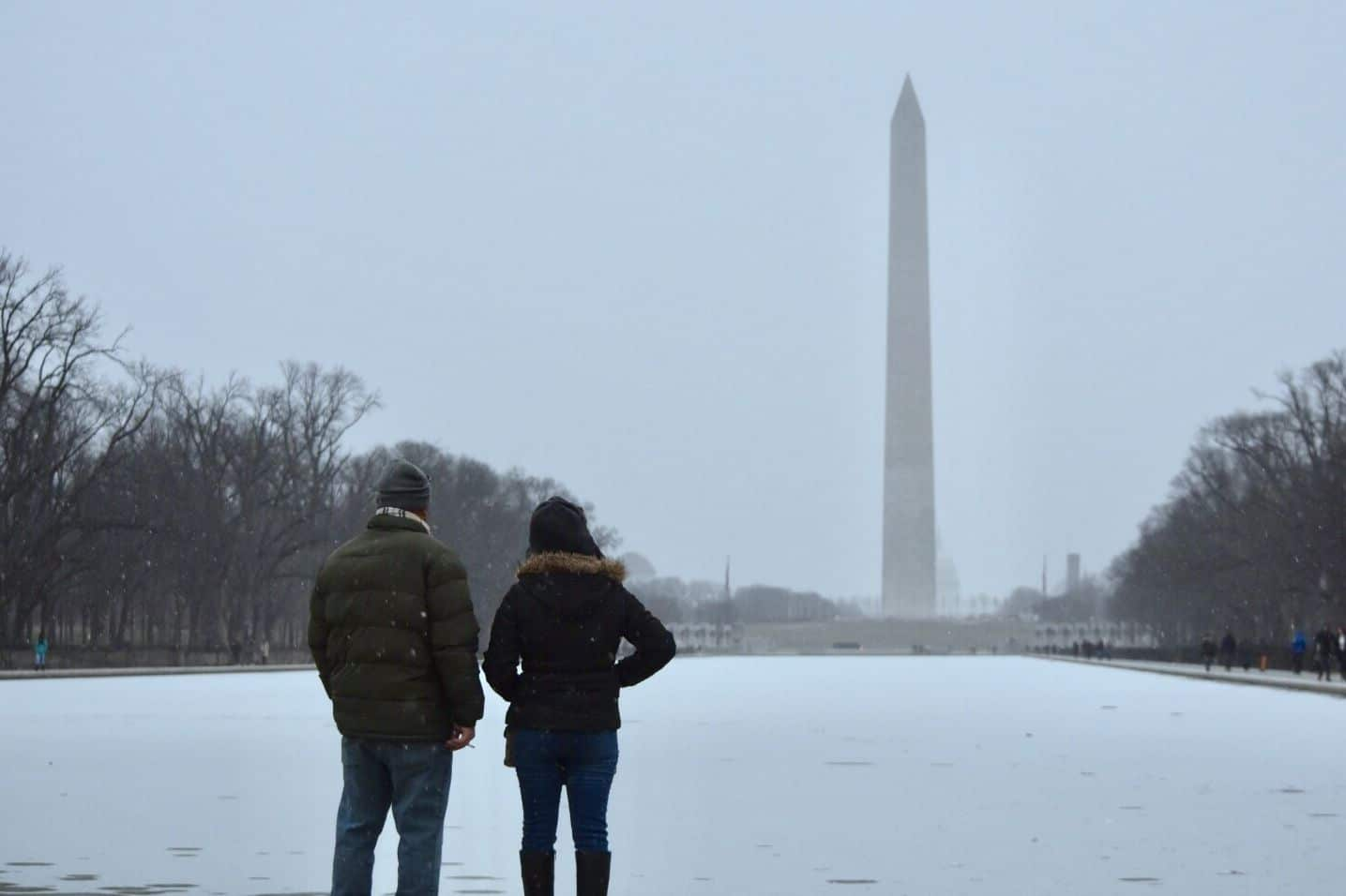 Snowy Saturday: Entire DC area under winter storm warning