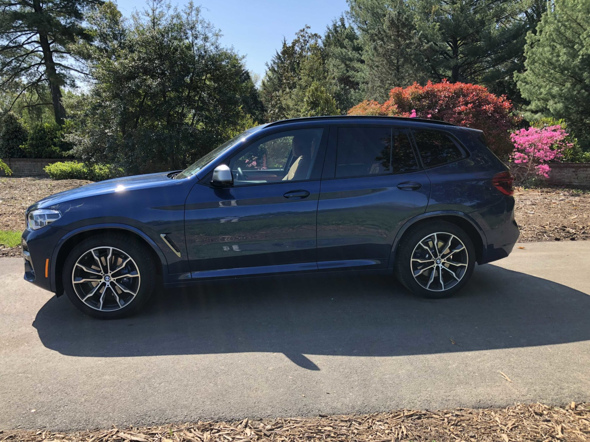 With more space and improved technology, the new X3 combines luxury with a fun-to-drive package. (WTOP/Mike Parris)
