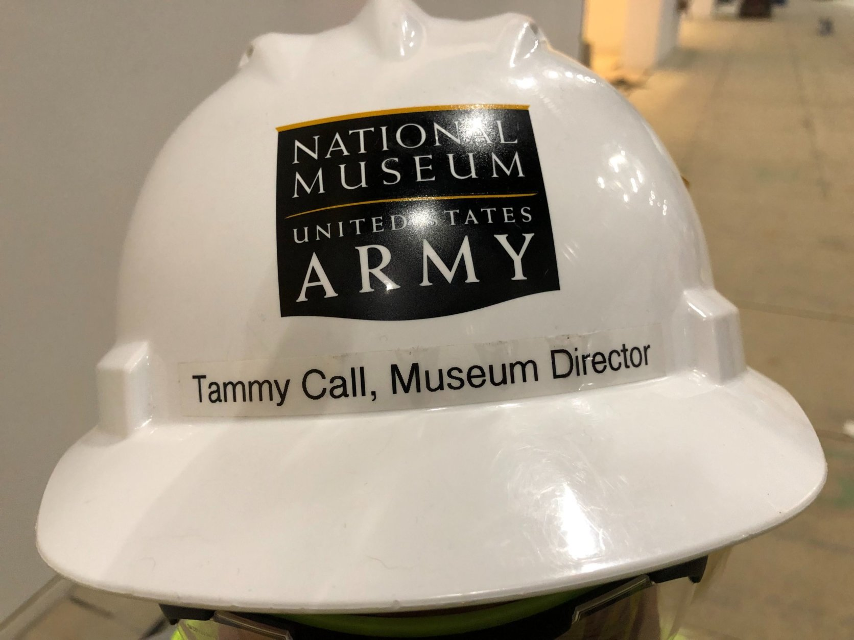 """When the doors open in 2020, this is America's Army museum,"" said Tammy Call, director of the National Museum of the U.S. Army. ""We show the relationship between American society and our army as we formed, as we have fought, as we protect this nation."" (WTOP/Kristi King)"