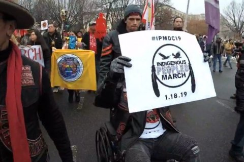 WATCH: The Indigenous Peoples March