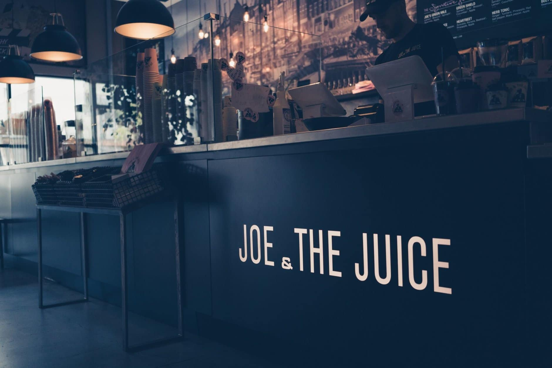 Joe & The Juice is a Danish chain serving fresh juices, coffees, breakfast and sandwiches. (Courtesy Joe & The Juice)