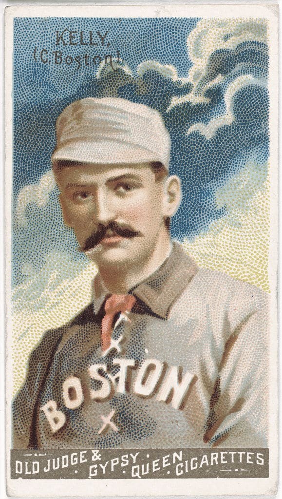 King Kelly, Boston Beaneaters. Issued in 1888 by Goodwin & Company. (Courtesy: Library of Congress)
