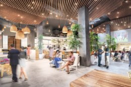The market will also include private event space, cooking demonstrations, language classes, workshops, art exhibitions and pop-up vendors and events. (Courtesy Edens)