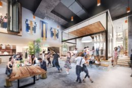 In addition to food and art, Edens says it will serve as a home for music, fashion, film, sport, travel and dance. (Courtesy Edens)