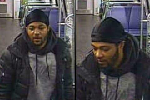 Man sought in assault outside Metro station