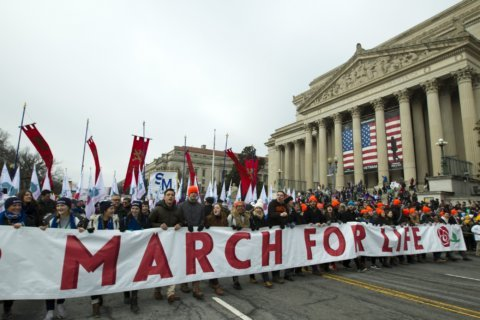 Crowds converge on Washington for March for Life
