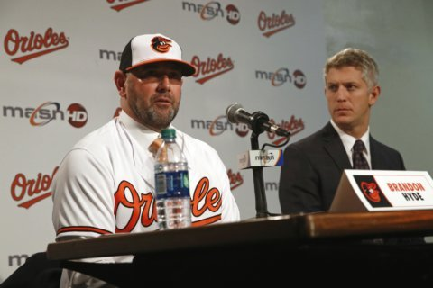 Elias, Hyde stress patience over playoffs for Orioles in '19