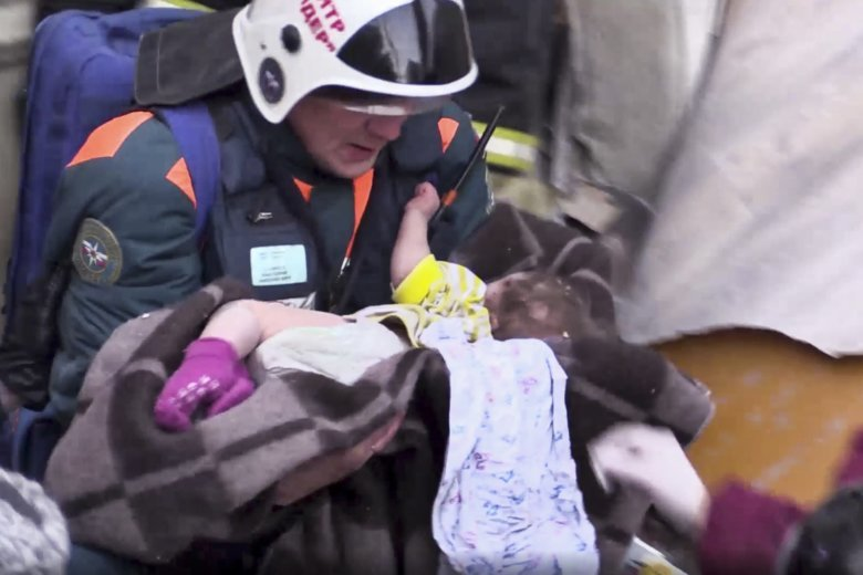 At least three dead in Russian Federation building collapse