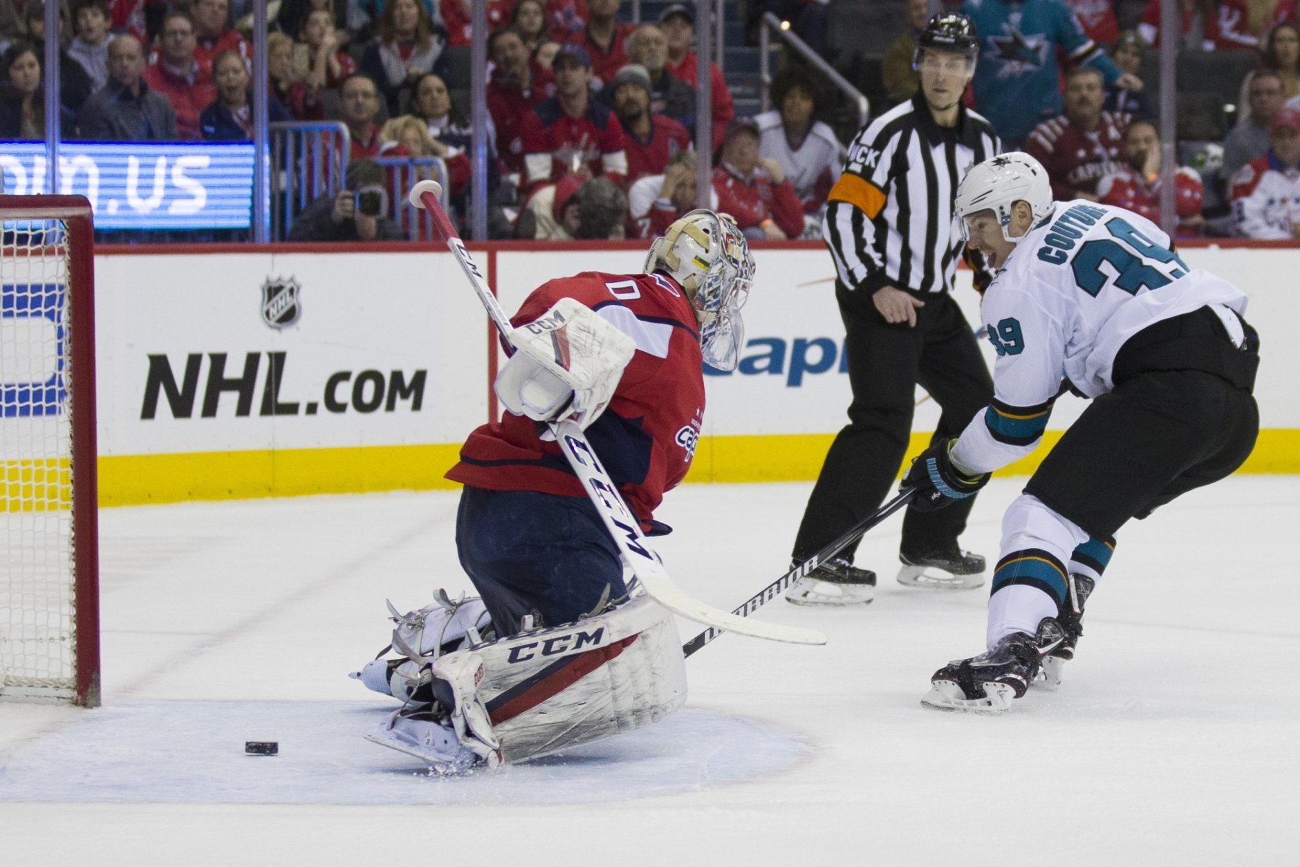 Logan Couture, Braden Holtby