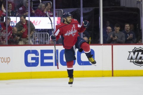In 6 straight loss, Caps fall to Sharks in overtime 7-6