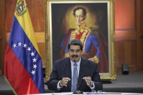 The Latest: Brazil party chief blasted for Maduro visit