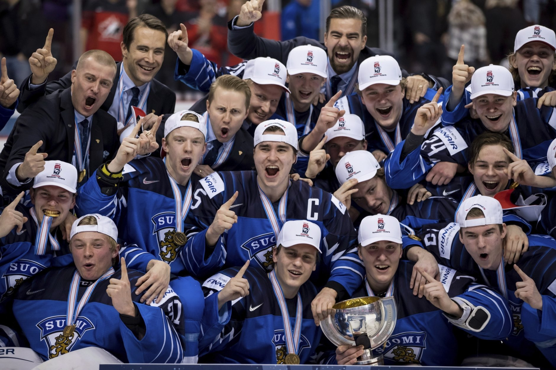 Finland Wins World Junior Hockey Title Beating Us 3 2 Wtop