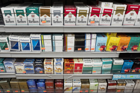 Maryland man gets 10 years for theft of 10 cigarette packs