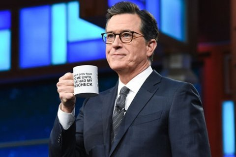 'Late Show' selling 'shutdown coffee mugs' to help feed furloughed feds