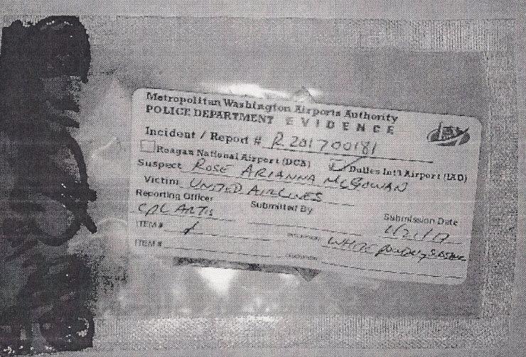 Virginia drug case against actress Rose McGowan in photos | WTOP