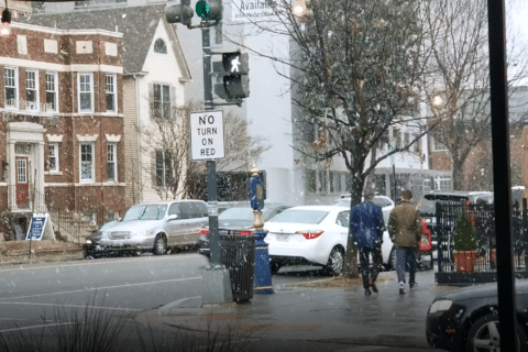 DC area's 1st flakes of 2019 have arrived, and more snow is on the way