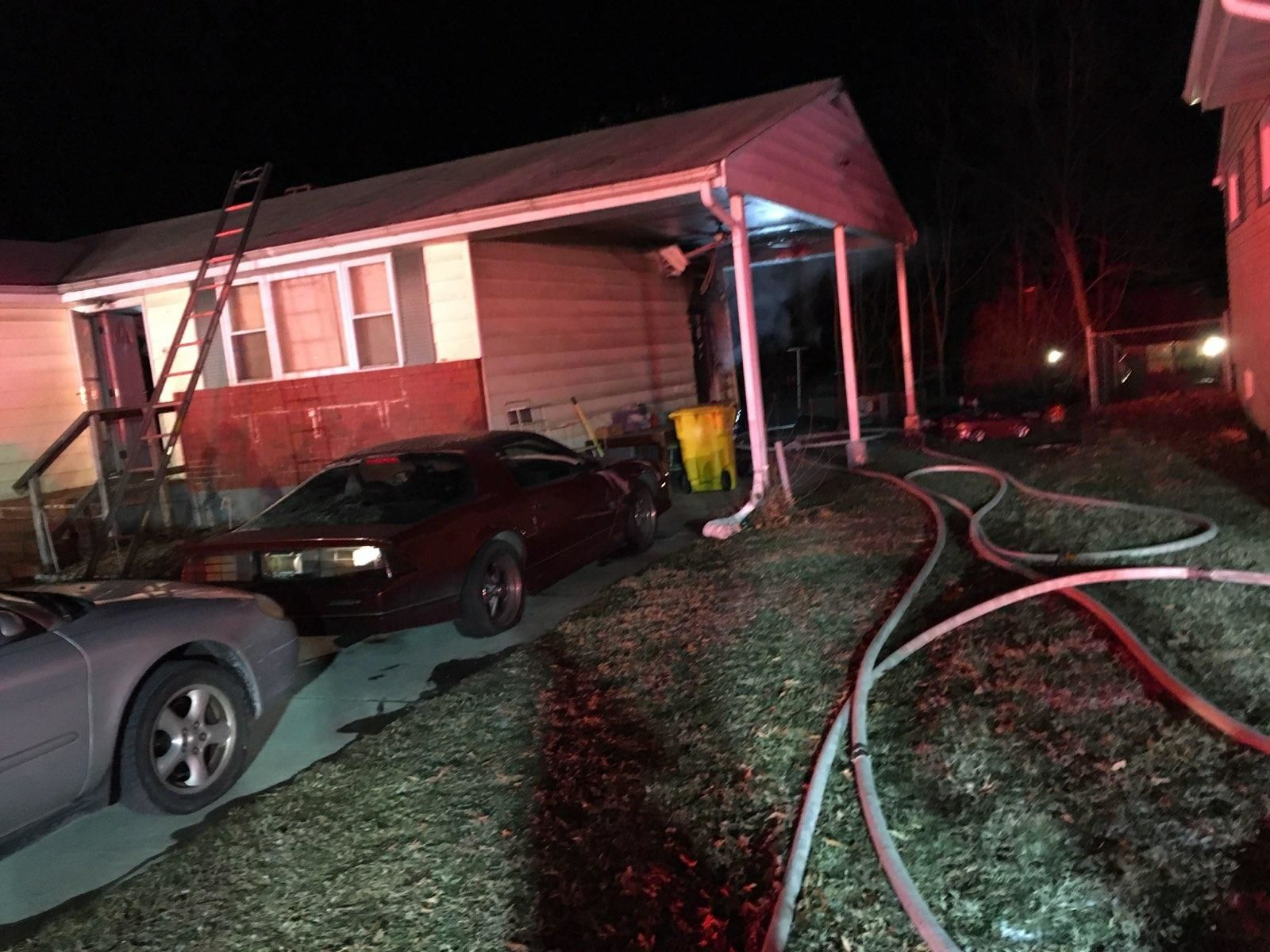 One died in the fire in Glen Burnie, Maryland. (Courtesy Anne Arundel County Fire Department))