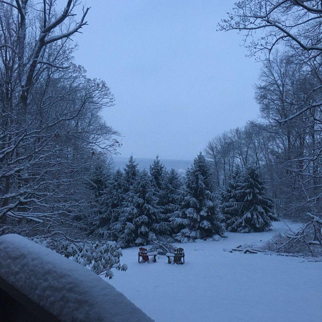 An idyllic morning in Hillsboro, Va.  on Sunday. (Courtesy of Jon Parrish Peede)