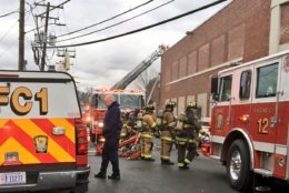 A medical marijuana facility filled with smoke from a fire on Saturday, Jan. 5, 2019. (Courtesy DC Fire and EMS)