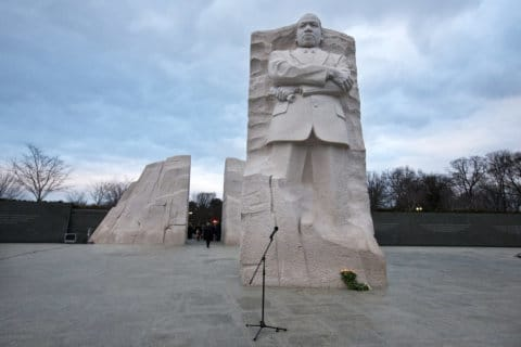 DC road closures for MLK Jr. Peace Walk and Parade