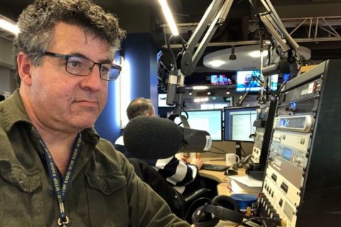Everything must go from WTOP's Glass-Enclosed Nerve Center