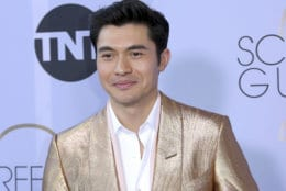 Henry Golding arrives at the 25th annual Screen Actors Guild Awards at the Shrine Auditorium & Expo Hall on Sunday, Jan. 27, 2019, in Los Angeles. (Photo by Willy Sanjuan/Invision/AP)