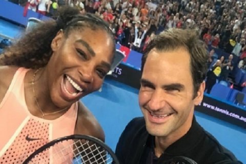 Roger Federer gushes about Serena Williams after defeating her in first match together