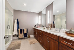 The four-bedroom, four-bathroom house on Kensington Street in Arlington, Virginia, was extensively renovated over the past 18 months. (Courtesy Century 21 New Millennium/RealMarkets)