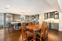 The gourmet kitchen features stainless steel Thermador appliances. (Courtesy Century 21 New Millennium/RealMarkets)
