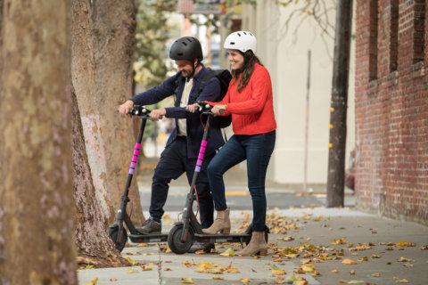 Lyft scooters hit Alexandria streets