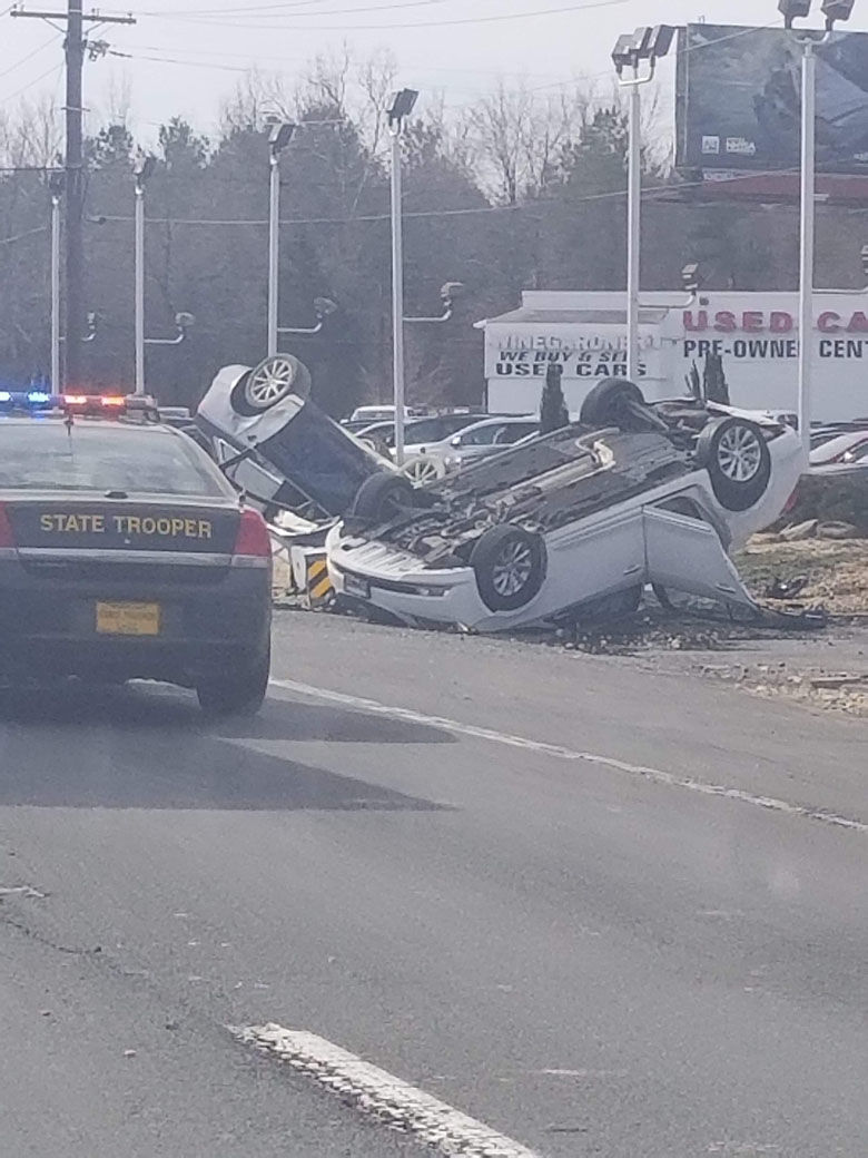 The crash happened on U.S. Route 301. (Courtesy Mishell Dickson)