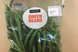 Marketside brand bagged green beans, 32 ounces (Courtesy Southern Specialties)
