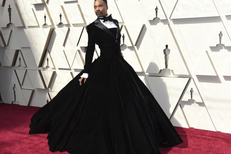 4bfd0a2a432b Billy Porter arrives at the Oscars on Sunday, Feb. 24, 2019, at the Dolby  Theatre in Los Angeles. (Photo by Richard Shotwell/Invision/AP)