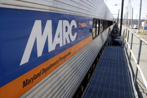 MARC train strikes, kills man in Prince George's County