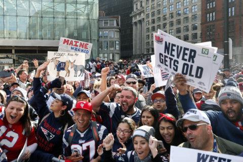 PHOTOS: Patriots Super Bowl victory parade