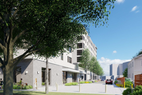 Arlington County adds 160 affordable housing units atop American Legion Post
