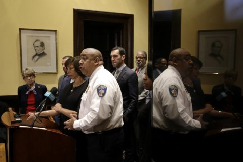 Baltimore's top cop to new officers: The country is watching