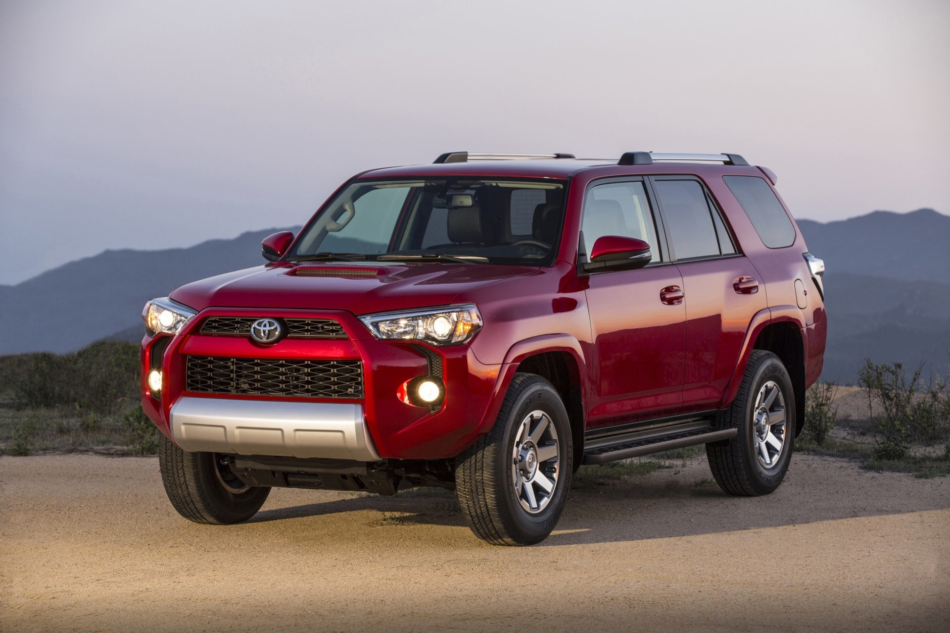 This undated photo provided by Toyota shows the Toyota 4Runner, a rugged SUV that makes mincemeat out of challenging offroad conditions. (Dewhurst Photography/Toyota via AP)