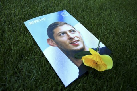 Body visible in wreckage of plane carrying soccer player
