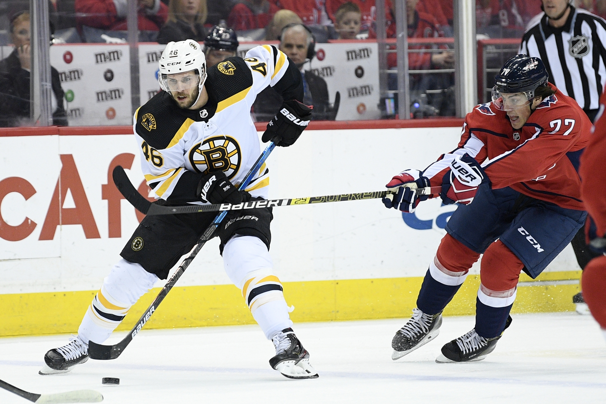 Bruins shut out Capitals to end 14-game skid vs ...Bruins News