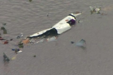 Sheriff: No likely survivors in jetliner crash near Houston