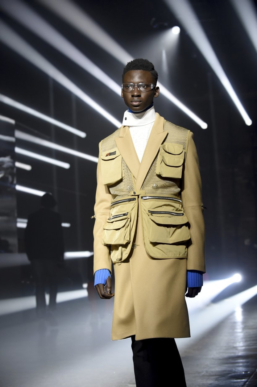 The Palm Angels collection is modeled during New York Fashion Week, Friday Feb. 8, 2019. (AP Photo/Diane Bondareff)